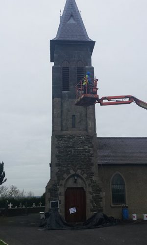 clear water repellent coating church